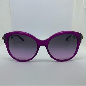 Coach HC8189 Asian Fit Women's Purple Sunglasses